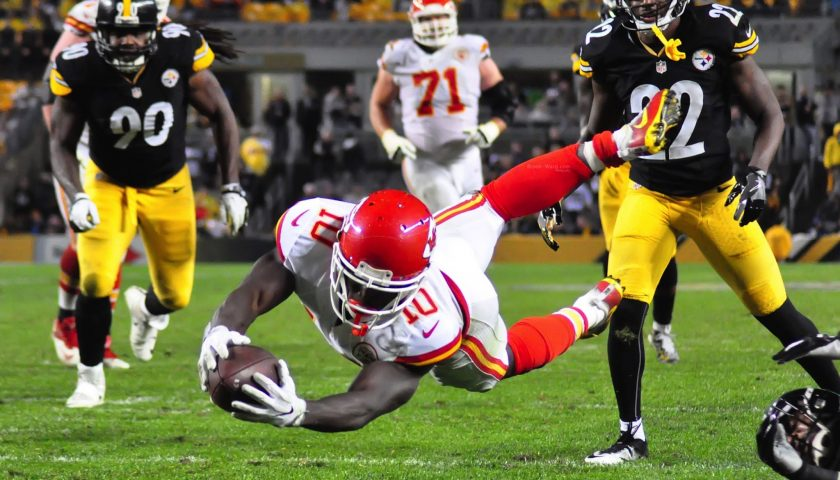 Kansas City Chiefs Tyreek Hill