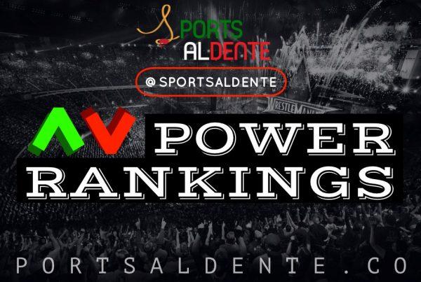 WWE Power Rankings