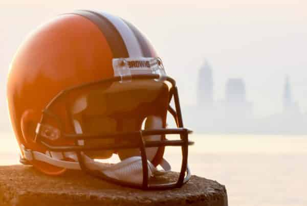 Cleveland Browns Helmet First Overall Pick