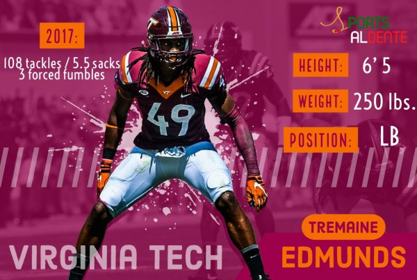 Tremaine Edmunds NFL Draft Profile