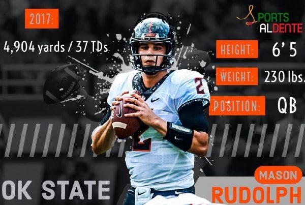 Mason Rudolph NFL Draft Profile