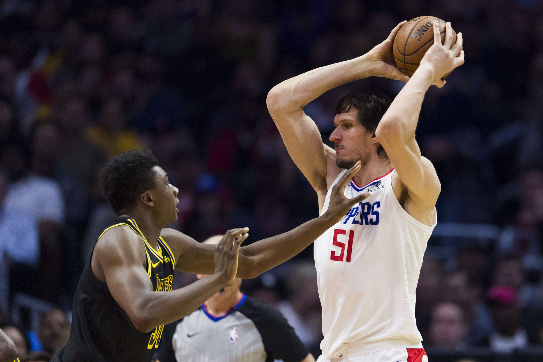 Boban Marjanovic Makes First Start With Clippers