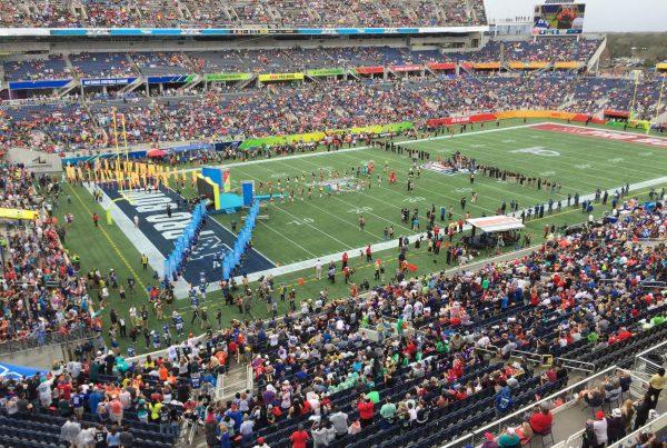 The NFL Pro Bowl At Camping World Stadium In Orlando, Florida. Photo Credit: Todd Van Hoosear - Under Creative Commons License