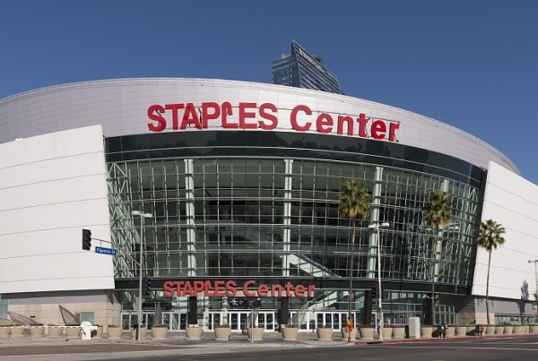 Home of The Los Angeles Lakers and Los Angeles Clippers, The Staples Center. Photo Credit: Carol M. Highsmith - Library of Congress