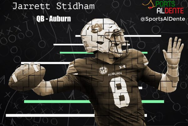 Jarrett Stidham NFL Draft Profile. Sports Al Dente Illustration