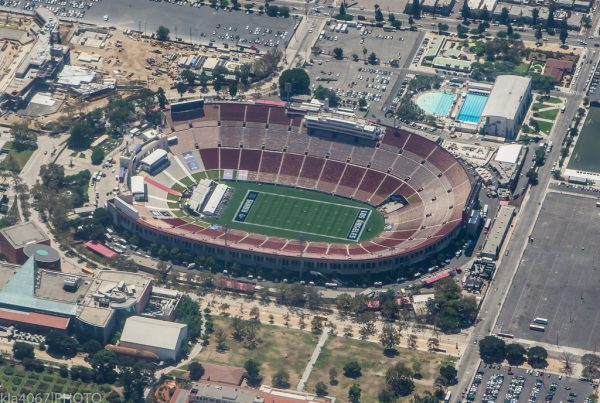 The Current Home Of The Los Angeles Rams, The LA Coliseum. Photo Credit: Ron Reiring | Under Creative Commons