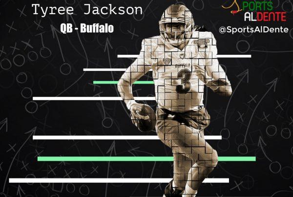 Tyree Jackson NFL Draft Profile   Sports Al Dente Illustration