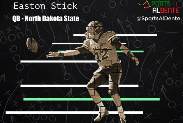 Easton Stick NFL Draft Profile | A Sports Al Dente Illustration
