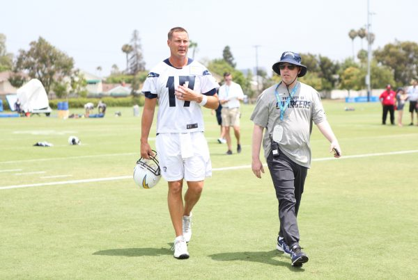 Los Angeles Chargers Quarterback Philip Rivers. Photo Credit: Monica Dyrud | Sports Al Dente