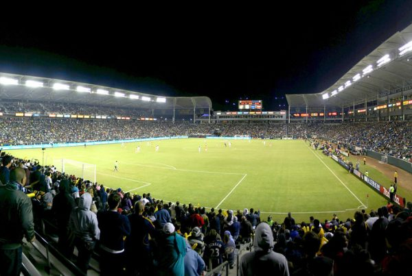 LA Galaxy vs The Houston Dynamo in the Western Conference Finals. Photo Credit: YoTut | Under Creative Commons License