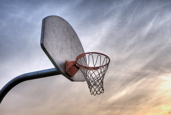 Basketball Hoop. Los Angeles Lakers. Photo Credit: Arturo Donate | Under Creative Commons License