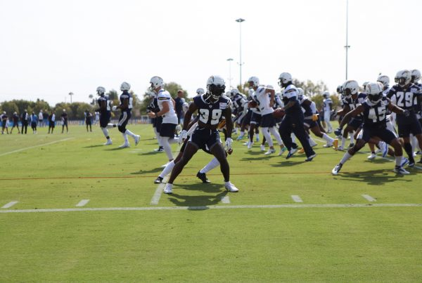 LA Chargers Training Camp 2018. Photo Credit: Monica Dyrud | The LAFB Network
