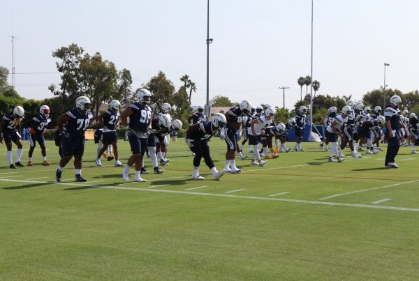 Los Angeles Chargers Training Camp 2018. Photo Credit: Monica Dyrud | The LAFB Network