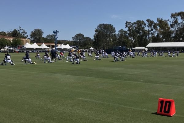 Los Angeles Rams 2018 Training Camp. Photo Credit: Ryan Dyrud | Sports Al Dente