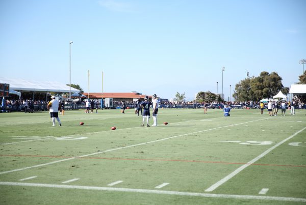 Greg Zuerlein And Johnny Hekker At Rams Training Camp 2019. Photo Credit: Ryan Dyrud | The LAFB Network