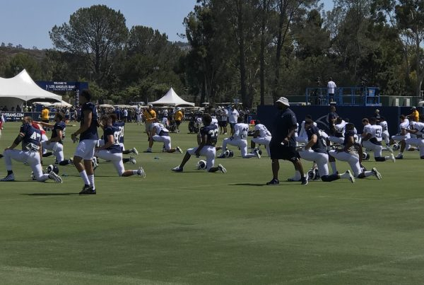 Los Angeles Rams Training Camp. Photo Credit: Ryan Dyrud | The LAFB Network