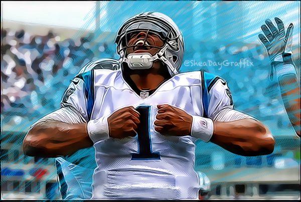 Carolina Panthers Quarterback Cam Newton. Photo Credit: Shea Huening | Under Creative Commons License