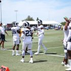 Rams Safety John Johnson And Corner Nickell Robey-Coleman During Training Camp. Photo Credit: Ryan Dyrud | Sports Al Dente