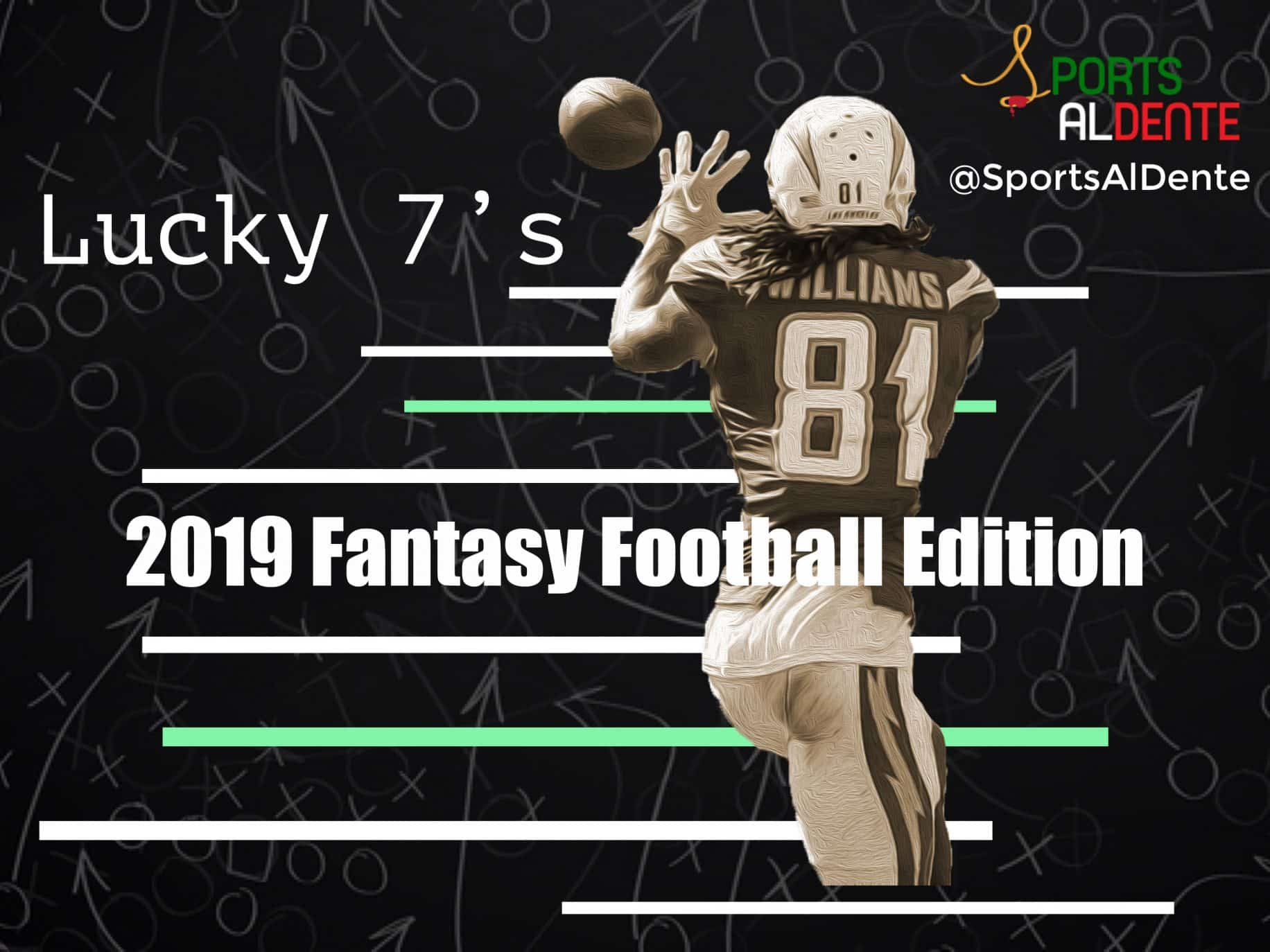 Lucky 7's – The 2019 Fantasy Football Edition
