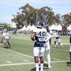Los Angeles Rams Safety Nick Scott. Photo Credit: Ryan Dyrud   Sports Al Dente