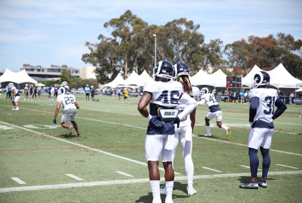 Los Angeles Rams Safety Nick Scott. Photo Credit: Ryan Dyrud | The LAFB Network
