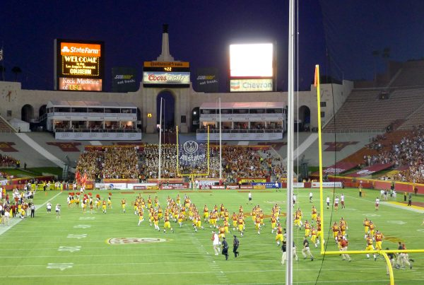 The LA Coliseum During A USC Football Game. Photo Credit: chenjack | Under Creative Commons License