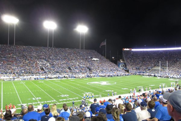 LaVell Edwards Stadium, Home Of The BYU Cougars. Photo Credit: Ken Lund - Under Creative Commons License