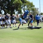 Los Angeles Chargers Defense Practices At Training Camp. Photo Credit: Ryan Dyrud   Sports Al Dente