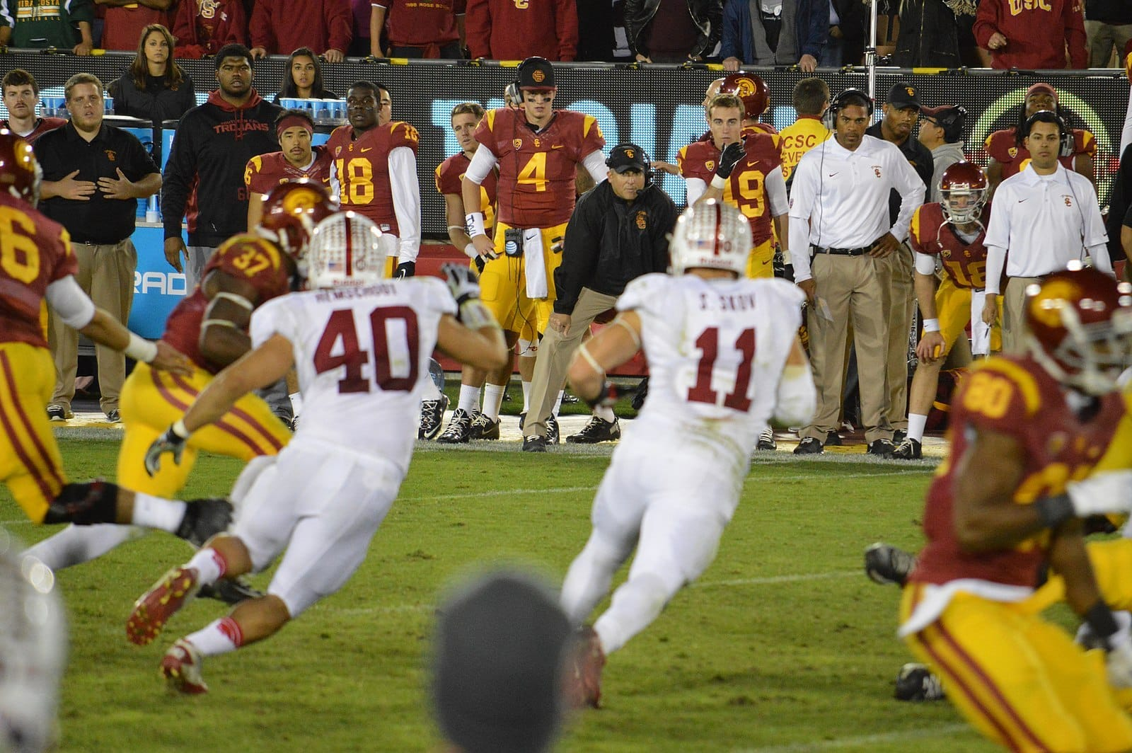 Is The Seat Of Clay Helton Hotter After Loss To BYU?