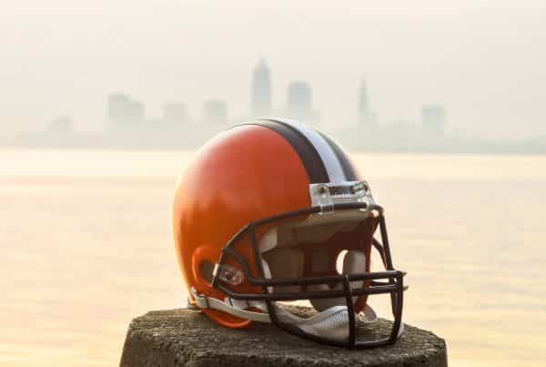 Cleveland Browns Helmet. Photo Credit: Erik Drost | Under Creative Commons License