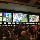 Mandalay Bay Sports Book. Photo Credit: The LAFB Network