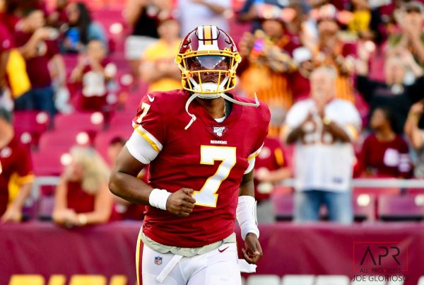 Washington Redskins Quarterback Dwayne Haskins. Photo Credit: All-Pro Reels | Under Creative Commons License