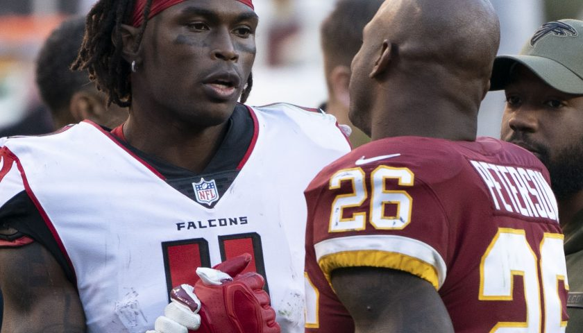 Falcons at Redskins 11/04/18. Photo Credit: KA Sports Photos | Under Creative Commons License