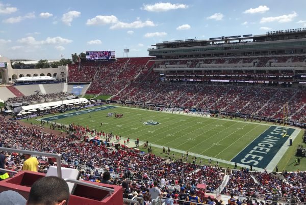 Los Angeles Rams Vs Tampa Bay Buccaneers. Photo Credit: Ryan Dyrud | The LAFB Network