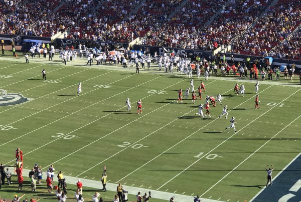 The Los Angeles Rams Squared Off Against The Tampa Bay Buccaneers At The LA Coliseum. Photo Credit: Ryan Dyrud | The LAFB Network