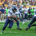 Seattle Seahawks Quarterback Russell Wilson. Photo Credit: Brook Ward   Under Creative Commons License