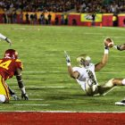Notre Dame vs USC At The Los Angeles Coliseum. Photo Credit: Neon Tommy   Under Creative Commons License