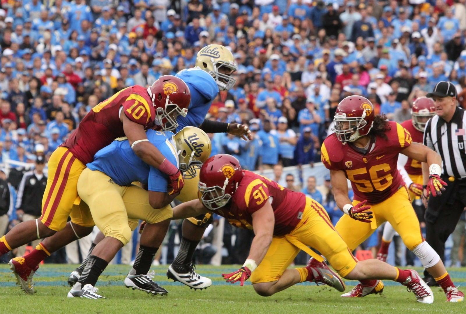 3 Key USC Matchups vs. UCLA