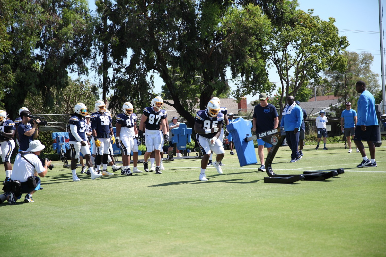 The Chargers Defensive Line: Week 16