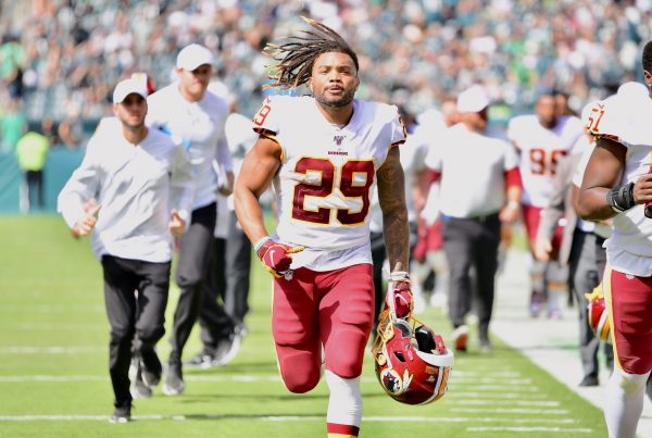Washington Redskins Running Back Derrius Guice. Photo Credit: All-Pro Reels | Joe Glorioso | Under Creative Commons License