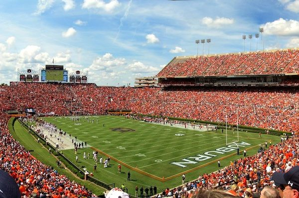 Jordan-Hare Stadium. Photo Credit: GSankary | Under Creative Commons License