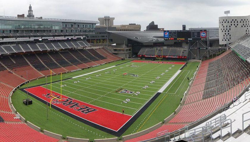 University of Cincinnati Nippert Stadium. Photo Credit: Wikimedia Commons | Under Creative Commons License