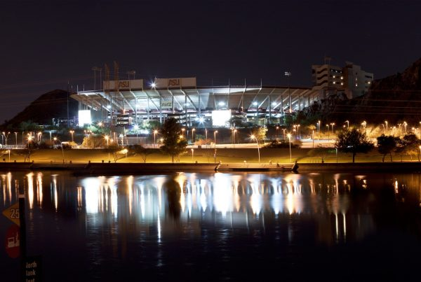 Arizona State Sun Devil Stadium. Photo Credit: Alan Stark | Under Creative Commons License
