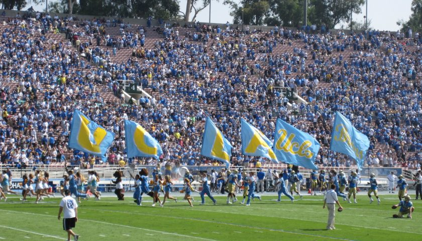 UCLA Bruins Football. Photo Credit: dabruins07 | Under Creative Commons License