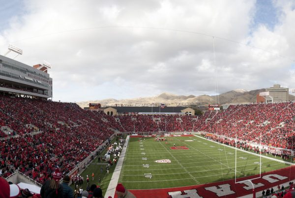 Utah Utes Football Stadium. Photo Credit: Sam Klein | Under Creative Commons License