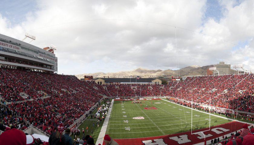 Utah Utes Football Stadium. Photo Credit: Sam Klein | Under Creative Commons License