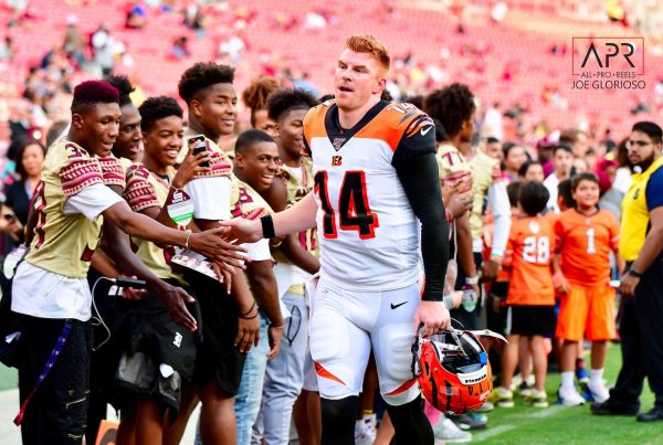 Cincinnati Bengals Quarterback Andy Dalton. Photo Credit: All-Pro Reels | Joe Glorioso | Under Creative Commons License