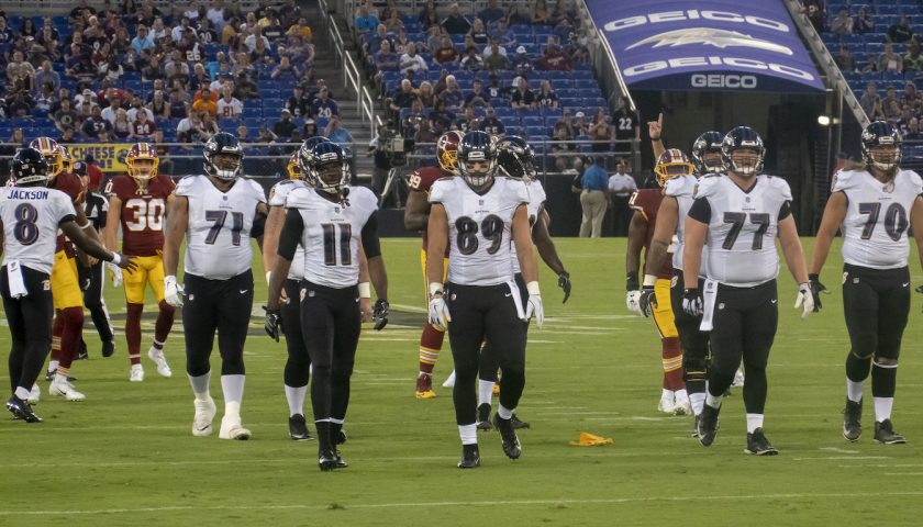 Washington Redskins At Baltimore Ravens. Photo Credit: KA Sports Photos | Under Creative Commons License