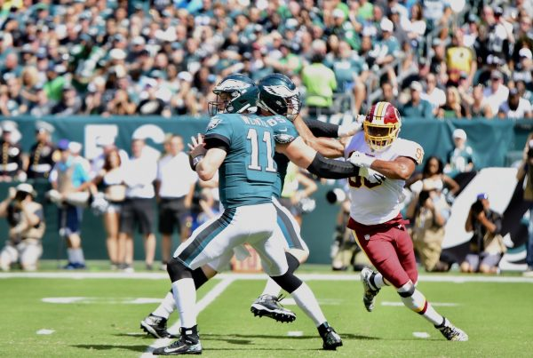 Philadelphia Eagles Quarterback Carson Wentz. Photo Credit: All-Pro Reels | Joe Glorioso | Under Creative Commons License