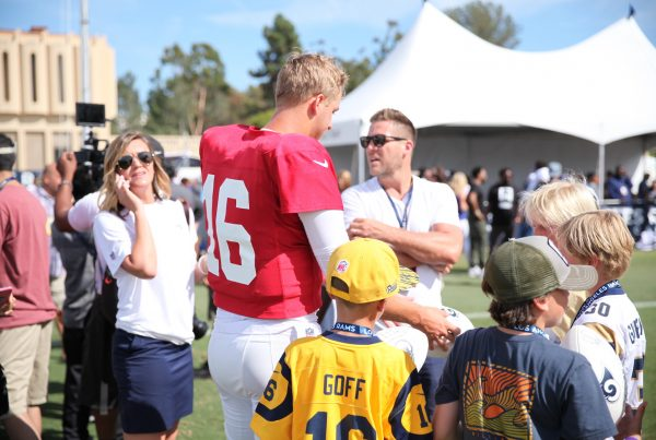 Los Angeles Rams Quarterback Jared Goff. Photo Credit: Ryan Dyrud | The LAFB Network